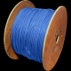 DATAPRO 500M WOOD DRUM CAT6 STRANDED S/FTP PVC CABLE 500M BLUE FULL COPPER 4 PAIR GIGABIT 250MHz [04DTP2125]