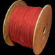 DATAPRO 500M WOOD DRUM CAT6 STRANDED S/FTP PVC CABLE 500M RED FULL COPPER 4 PAIR GIGABIT 250MHz [04DTP2365]