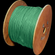 DATAPRO 500M WOOD DRUM CAT6 STRANDED S/FTP PVC CABLE 500M GREEN FULL COPPER 4 PAIR GIGABIT 250MHz [04DTP7878]
